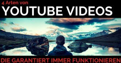 Erfolgreiche Youtube Videos