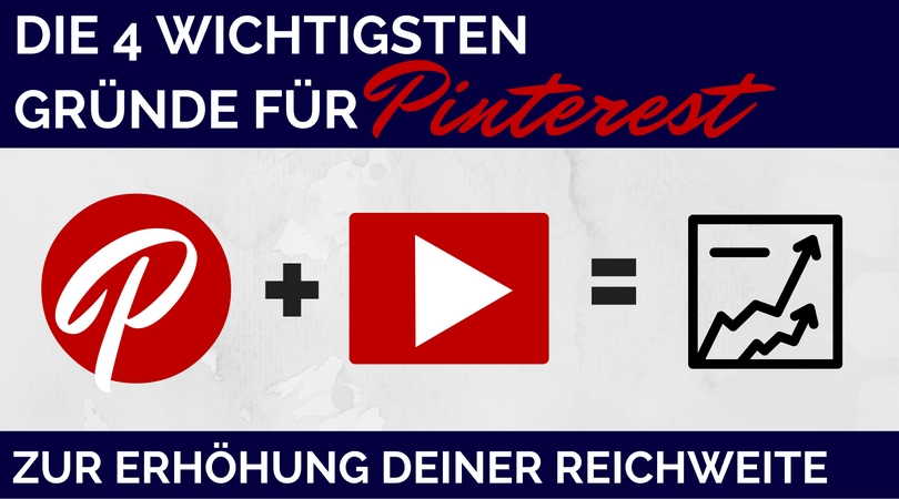 Youtube Klicks mit Pinterest